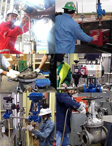 image of valve services product category inako pratama